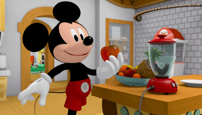 Mickey Morning show 1